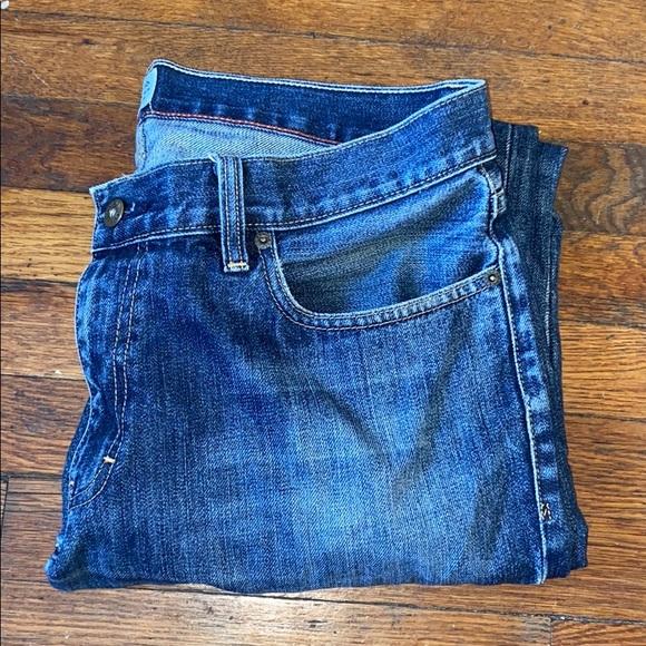 J Crew men's jeans Urban Slim 34 X 32 blue denim